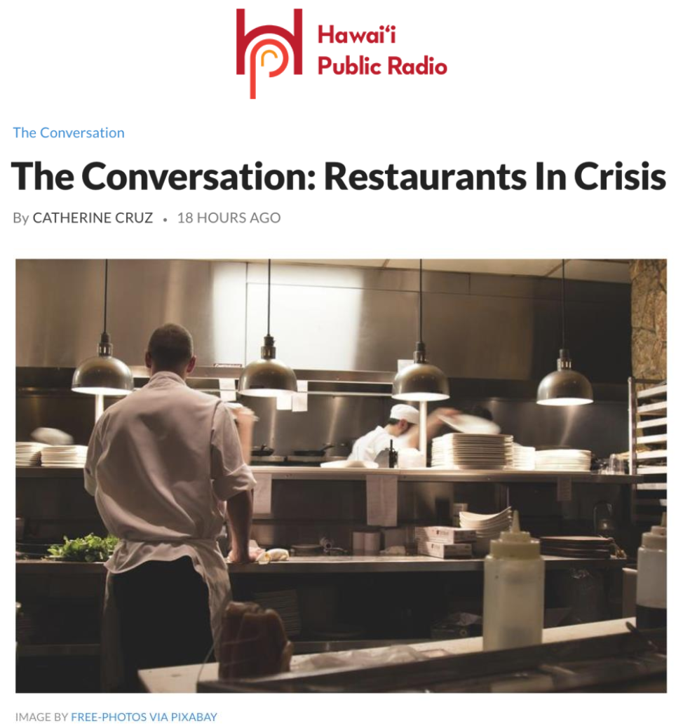 The Conversation: Restaurants In Crisis